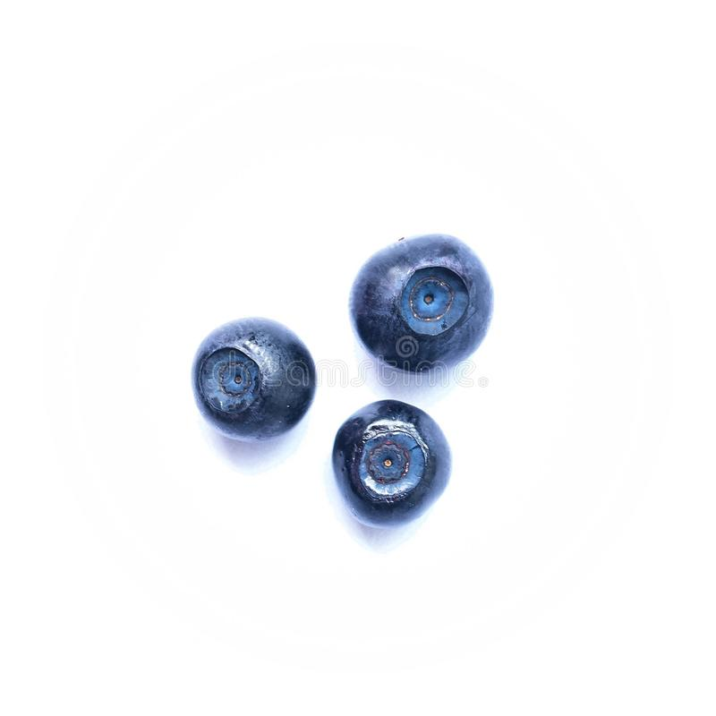 蓝莓 免版税库存图片