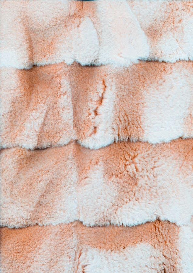 蓬松的抽象背景仿毛纹理桃 免版税图库摄影