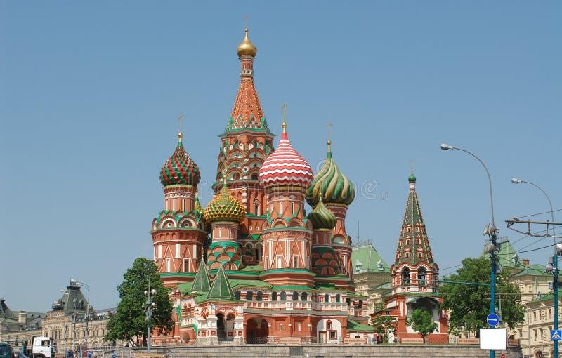 蓬蒿大教堂克里姆林宫莫斯科俄国st 免版税库存图片