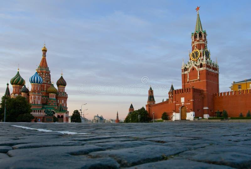 蓬蒿大教堂莫斯科红场st 图库摄影