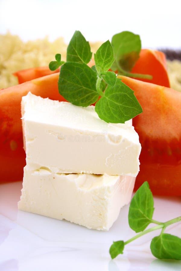 蓬蒿新鲜的蕃茄 免版税库存照片