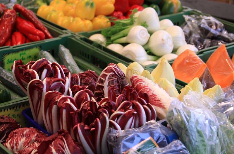 蔬菜在市场上 免版税库存图片