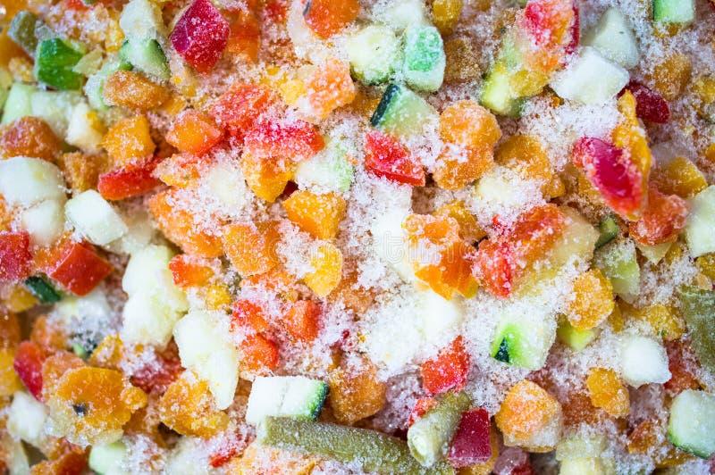 冻结蔬菜 库存图片