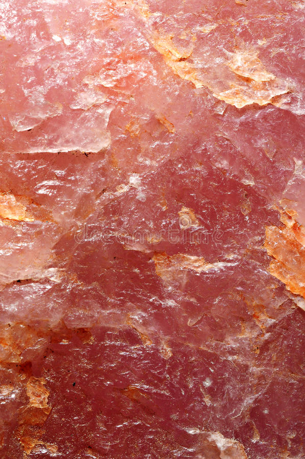 蔷薇石英背景 图库摄影