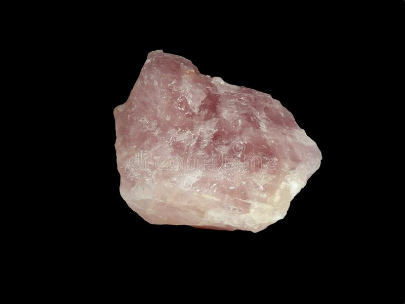 蔷薇石英 库存照片