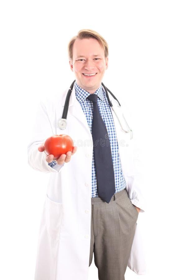 蕃茄是健康的 免版税图库摄影