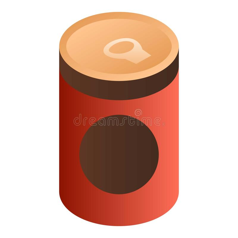 蕃茄汤罐头象,等量样式 皇族释放例证