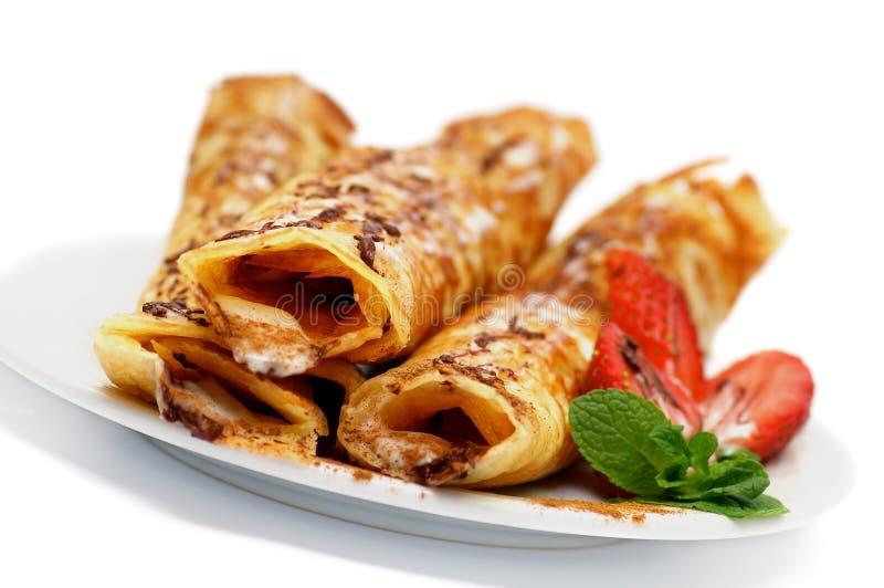 Download 薄煎饼小管用草莓 库存图片. 图片 包括有 欧洲, 美食, browne, 薄煎饼, 法国, 自创, 铸工 - 62539927