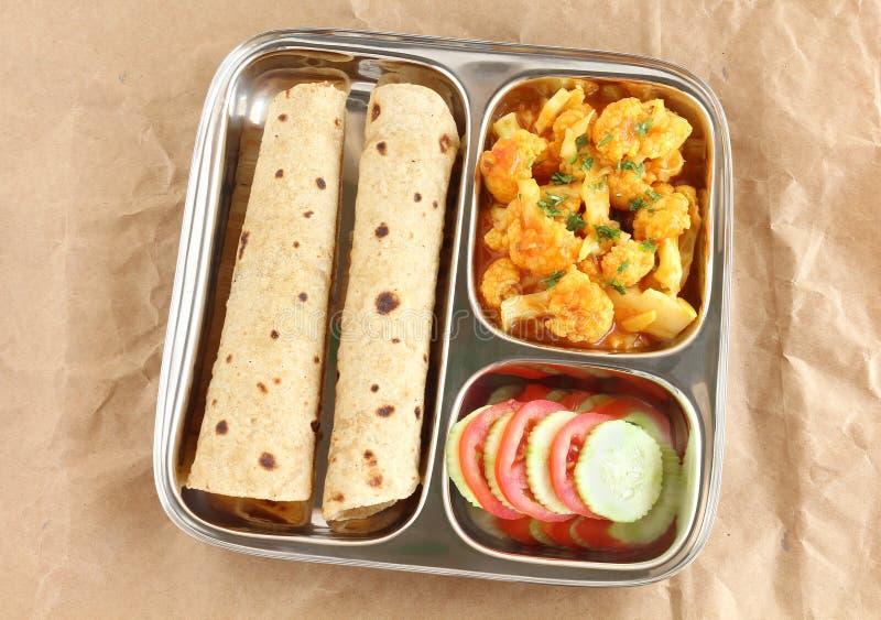 薄煎饼或印地安平的面包 免版税库存图片