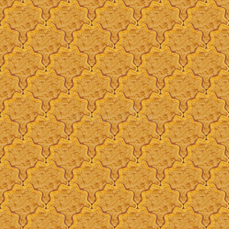 薄脆饼干Rasterized图表无缝的背景  库存例证
