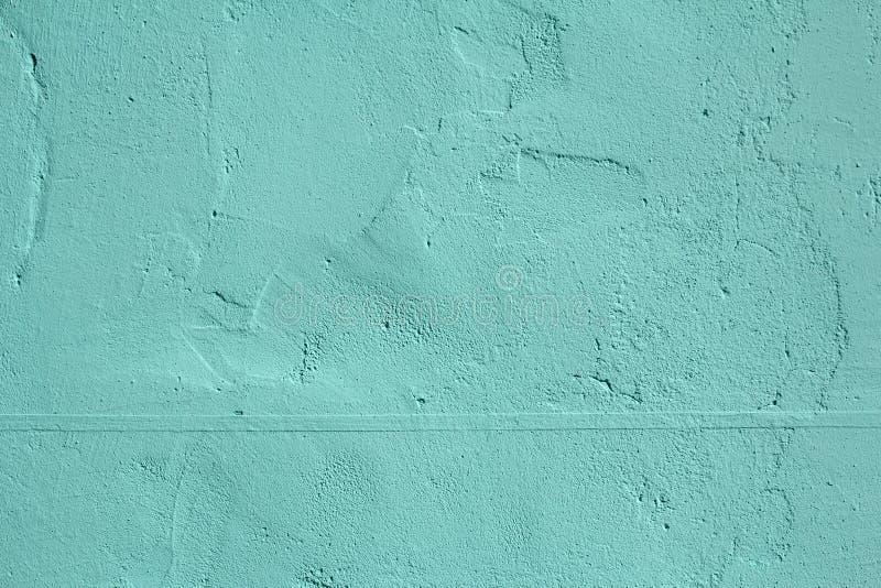 薄荷的石墙纹理 免版税库存图片