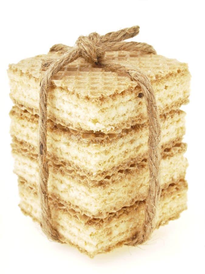 薄酥饼包装 库存照片