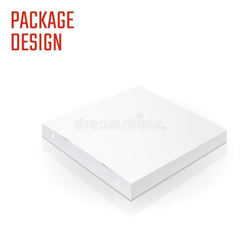 薄饼包裹箱子1 向量例证