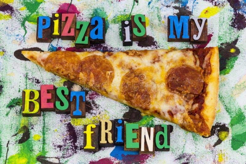 薄饼最好的朋友速食 免版税库存图片