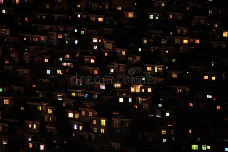 藏传佛教学院在中国 库存图片