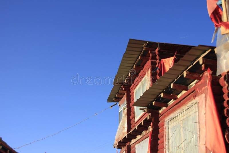 藏传佛教学院在中国 免版税库存照片