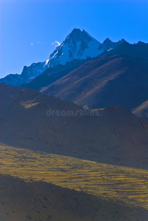 藏语的山 库存照片