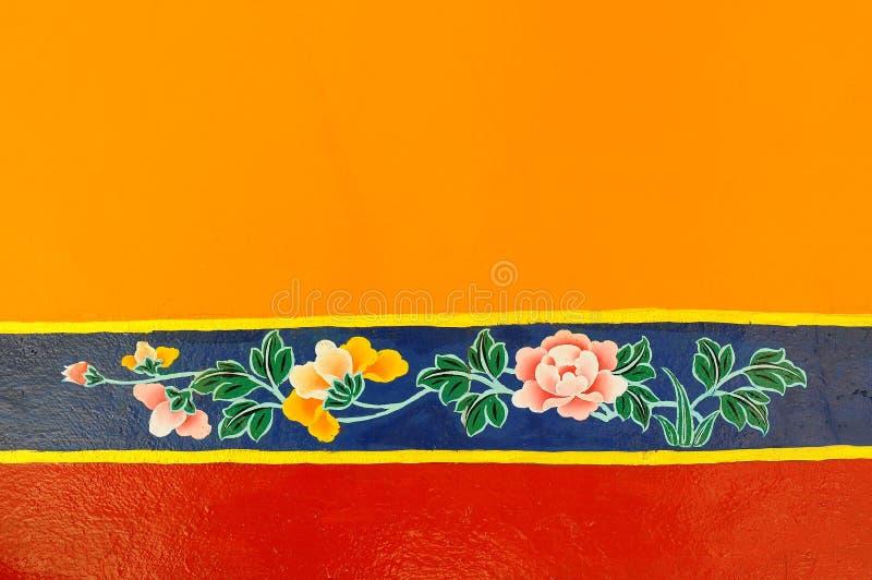 藏语的绘画 免版税库存图片