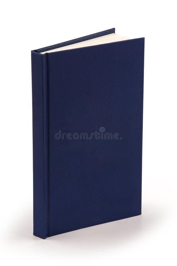 藏青色书-裁减路线 库存照片