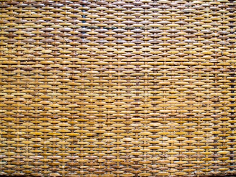 从藤条茎的柳条制品  库存图片