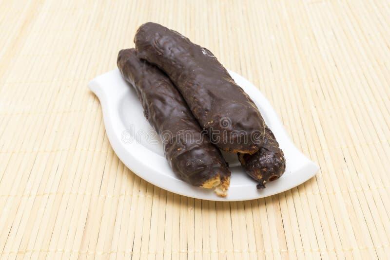 藤茎巧克力 免版税库存照片
