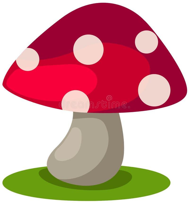 蘑菇 库存例证