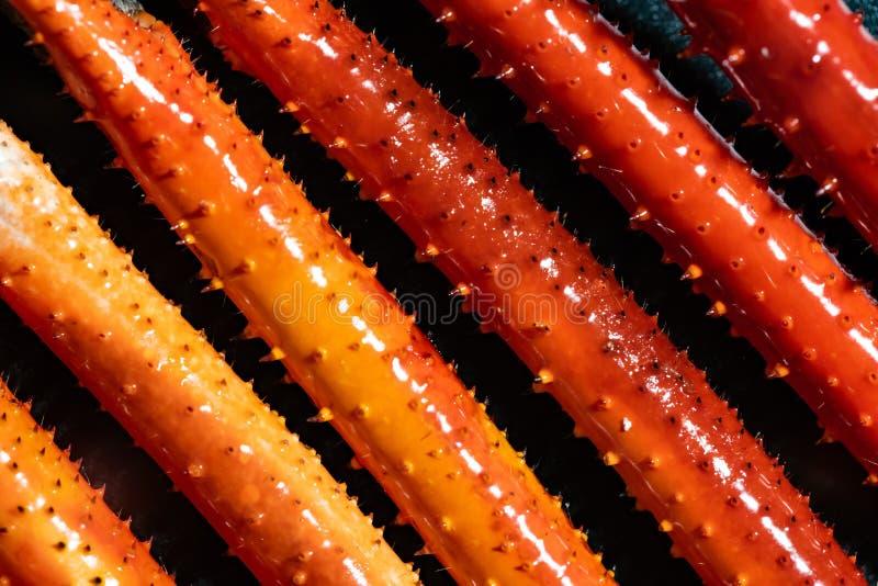 虾胳膊或壳虾堆背景 免版税图库摄影