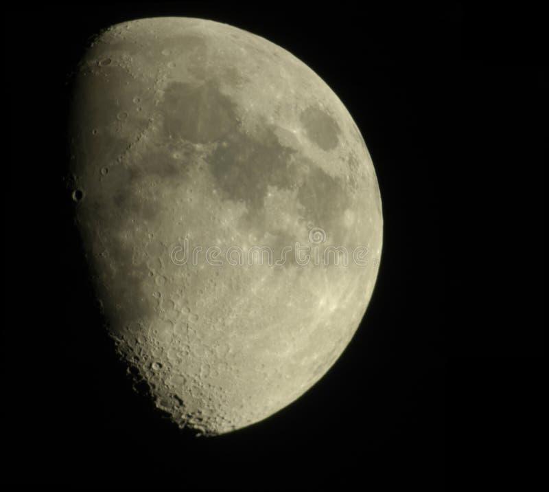 蚀月亮 免版税库存图片