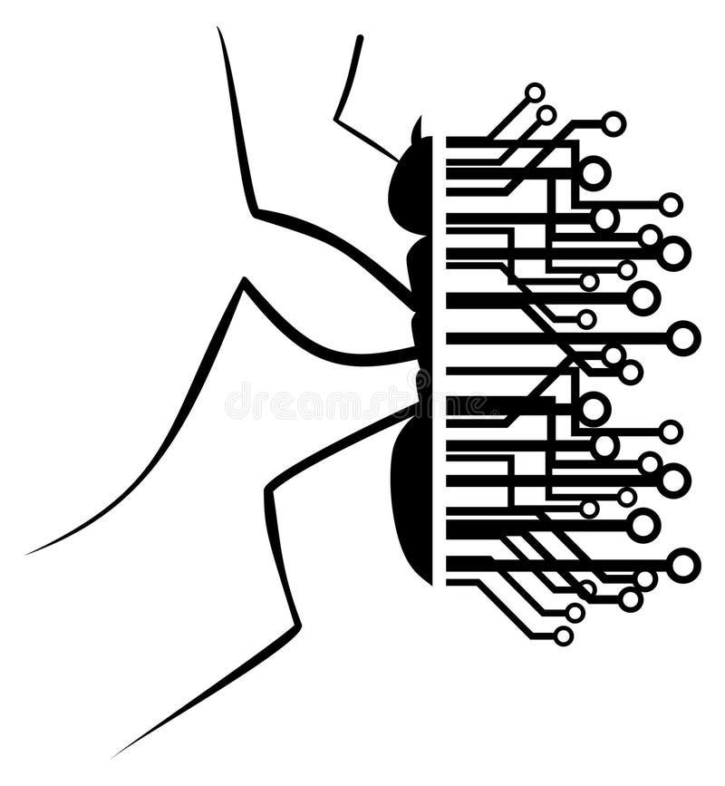 蚂蚁技术 向量例证