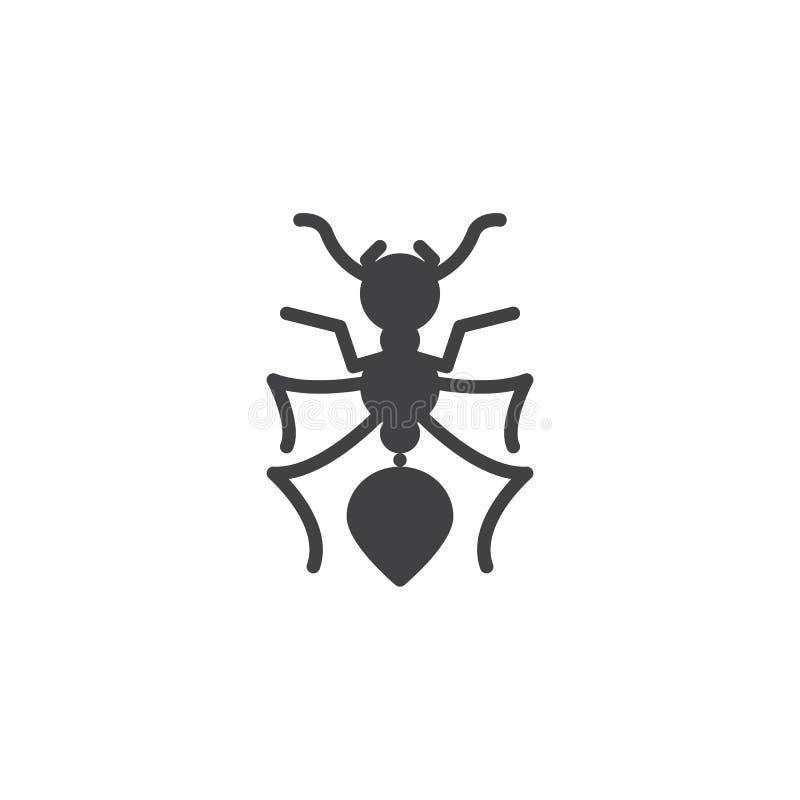蚂蚁虫导航象 向量例证