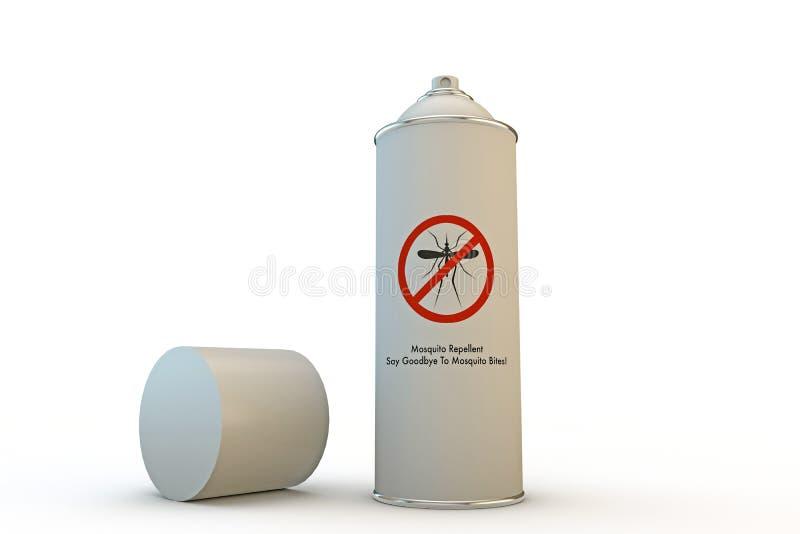 蚊子喷壶 皇族释放例证