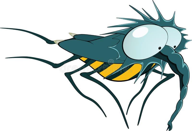 蚤 向量例证