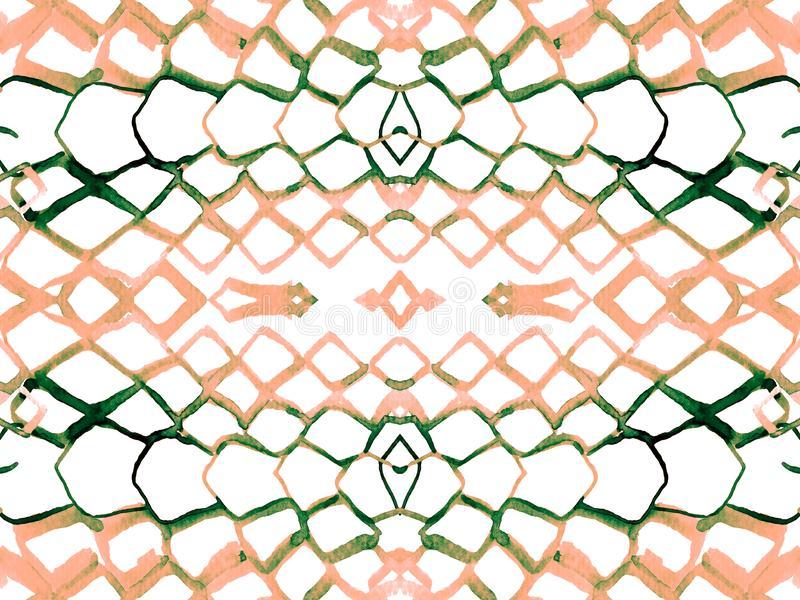 蛇无缝的样式 库存例证