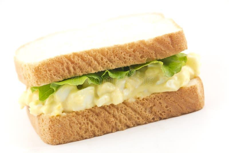 蛋沙拉三明治 免版税库存图片