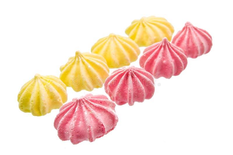蛋白甜饼 免版税库存照片
