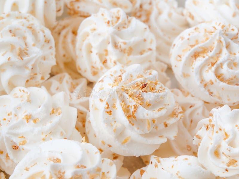 蛋白甜饼 库存图片