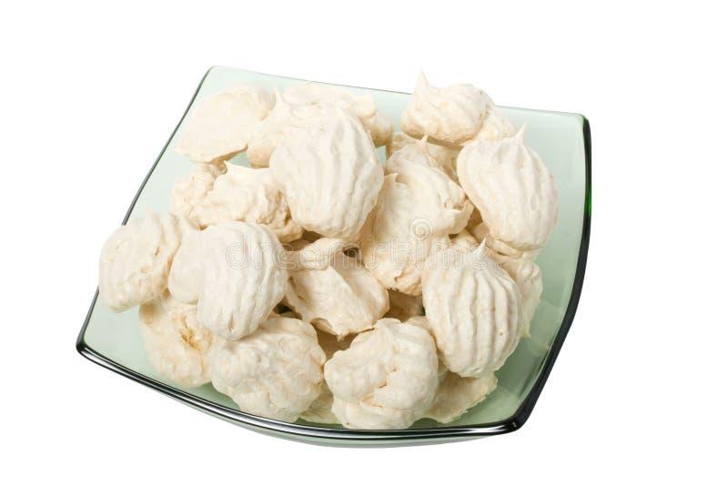 蛋白甜饼 免版税图库摄影