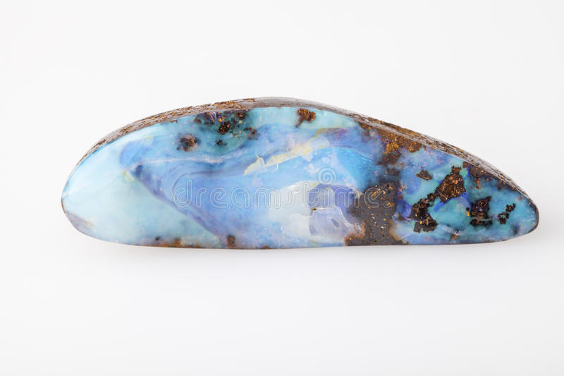 蛋白石石头 免版税图库摄影