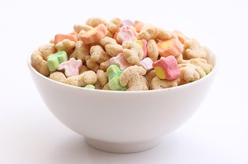 蛋白软糖谷物 免版税库存照片