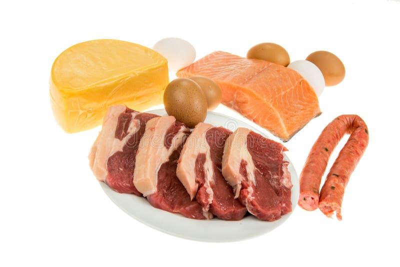 蛋白质来源 库存图片