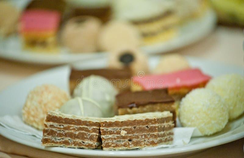 蛋糕一点 库存图片