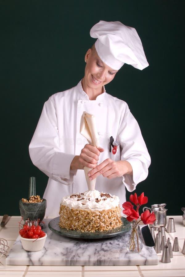 蛋糕主厨管道系统的星形
