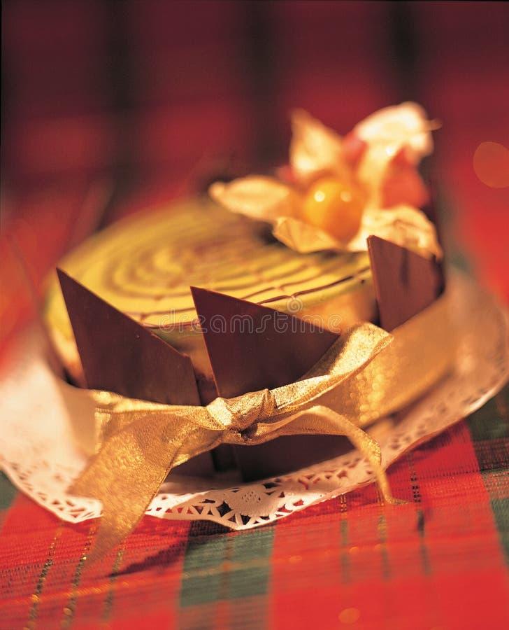 蛋糕圣诞节 免版税图库摄影