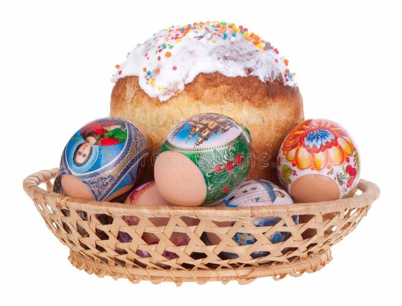 蛋糕复活节 免版税库存照片
