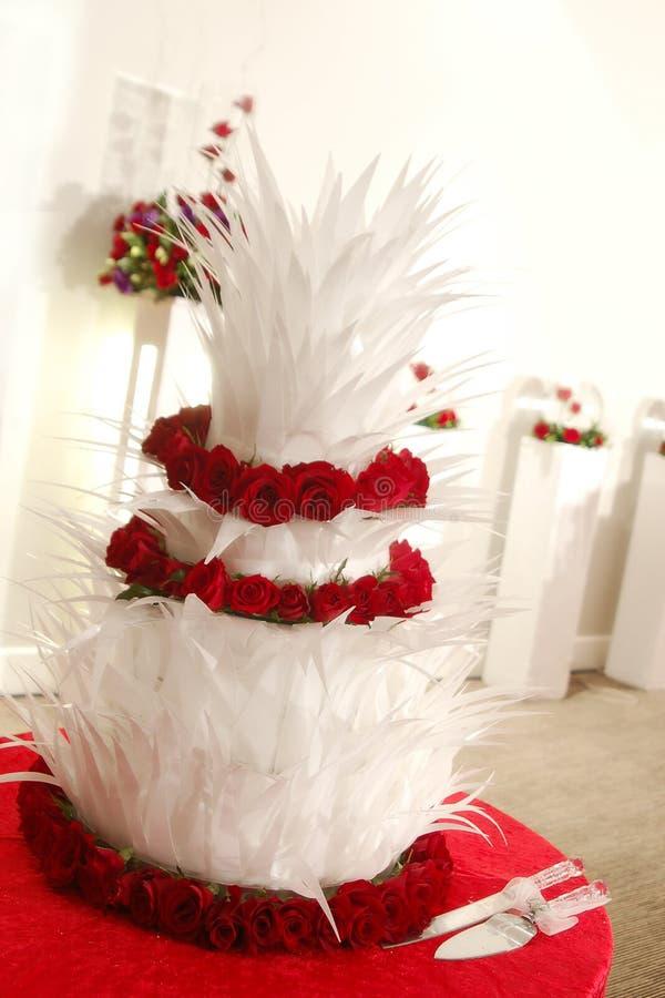 蛋糕婚礼 图库摄影
