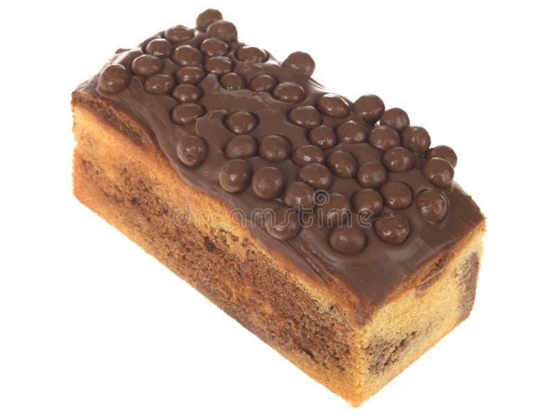 蛋糕巧克力大面包马德拉岛大理石 库存图片