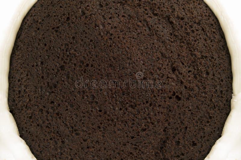 蛋糕巧克力结霜 库存照片