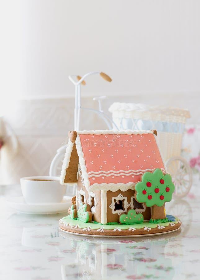 蛋糕房子 免版税库存照片