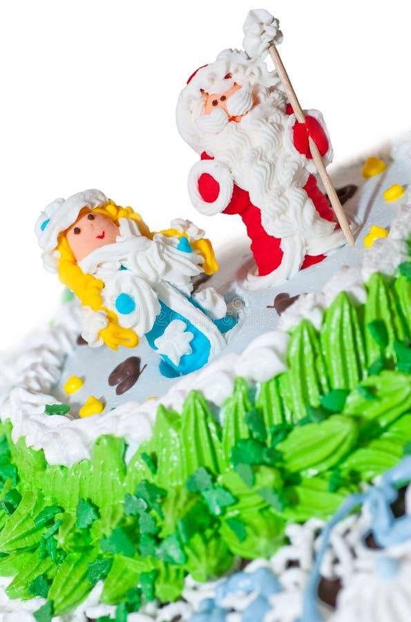 蛋糕新的s年 免版税库存图片