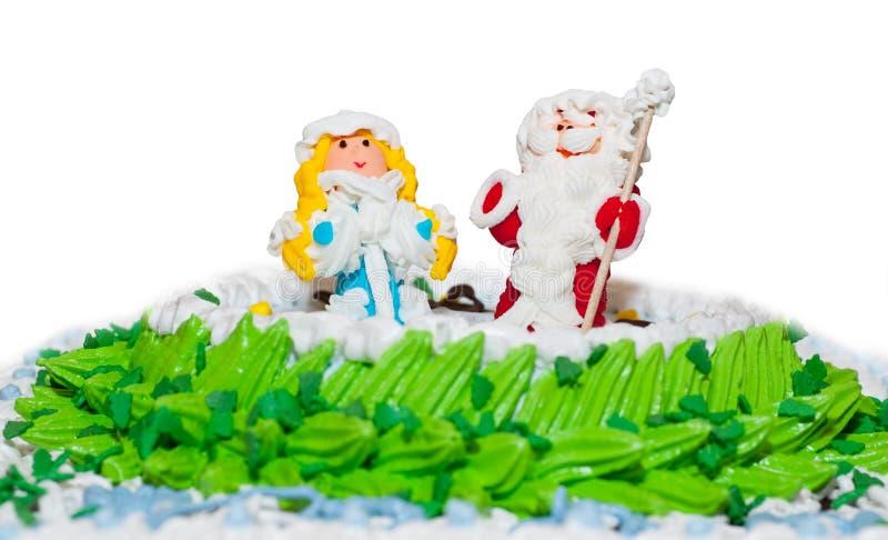 蛋糕新的s年 库存图片